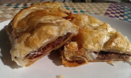Leftover Chocolate Puff Pastry Treat