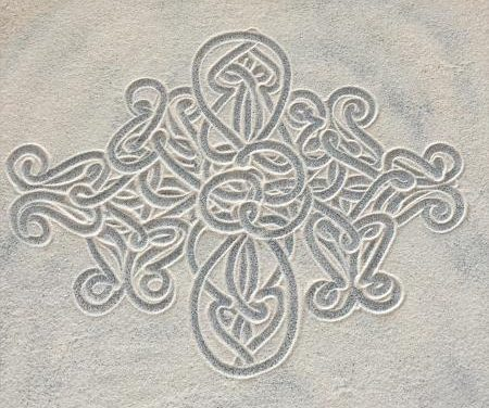 Sand Drawing – A Dying Practice?