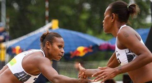 Vanuatu volleyballers looking to bounce back in Cairns