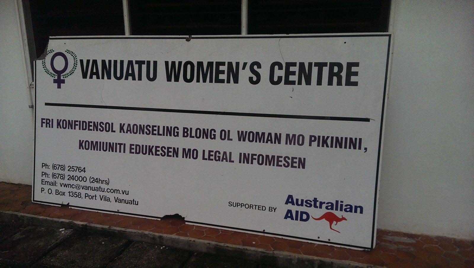 vanuatu women's centre office