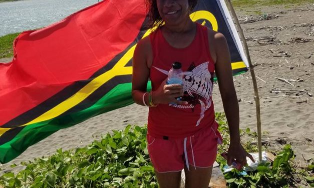 Solwata Sista comes 2nd in Powerade Fiji Junior Pro