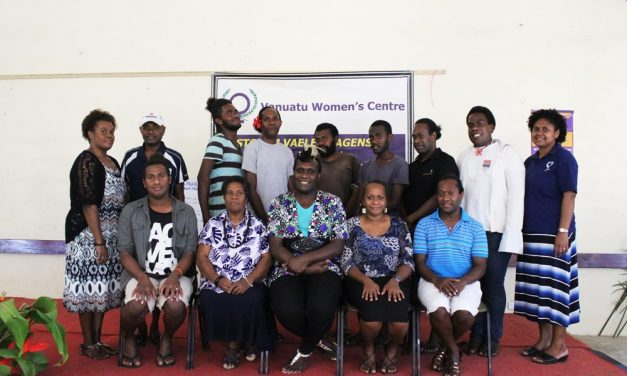VPride Foundation and Vanuatu Women's Centre hold first LGBTI Human Rights workshop together