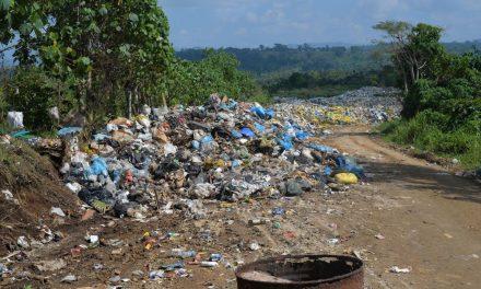 Bouffa dump site in poor state