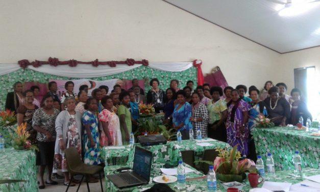 Historic Women's Peace Table Held In Port Vila, Fri 21st Oct 2016