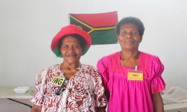 Vanuatu International Women's Group Food Festival – Sat 1st October 2016