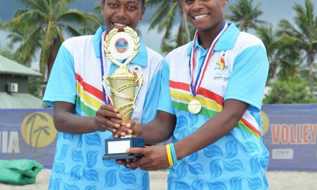 Vanuatu wins the Oceania Beach Volleyball Championship women's title