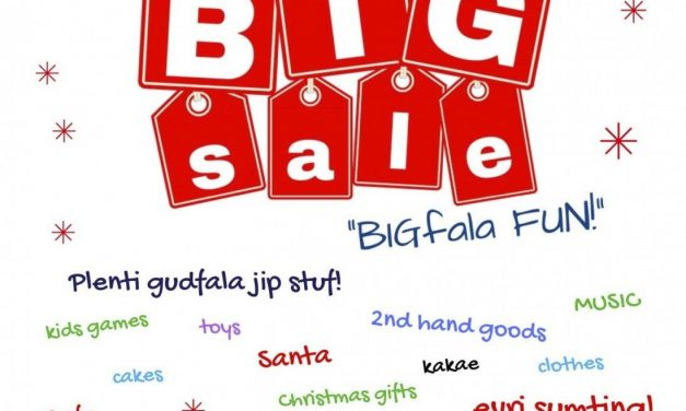 BIGFALA fun & evri samting at Saturday's PVIS BIG Sale!