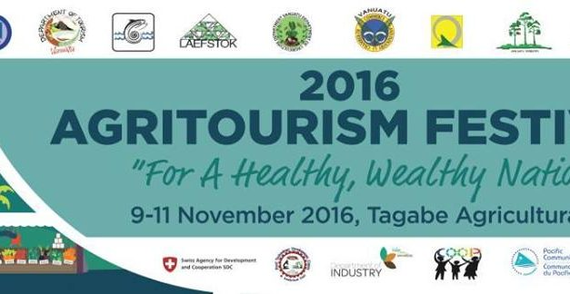 Vanuatu's first Agritourism Festival starts tomorrow 9-11th Nov