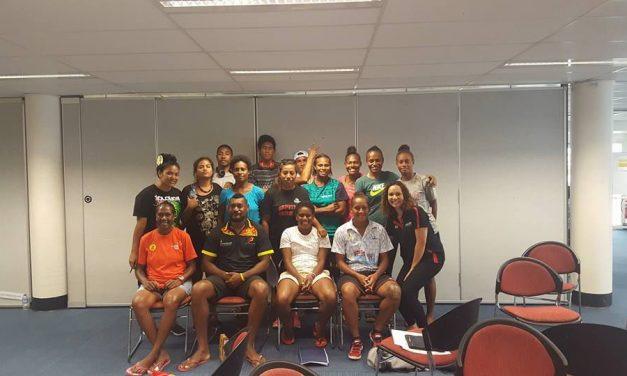 Six Vanuatu athletes training in Australia