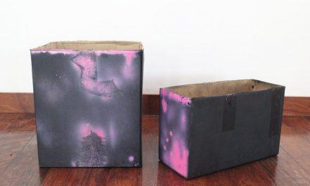 DIY Cardboard Storage Box