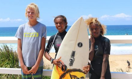 Surfboards donated to VSA by Narrabeen Sports High School