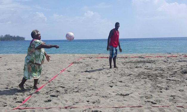 Lapita Bay Lini Day tournament and opening of Eratap Mama's Volley4Change Program