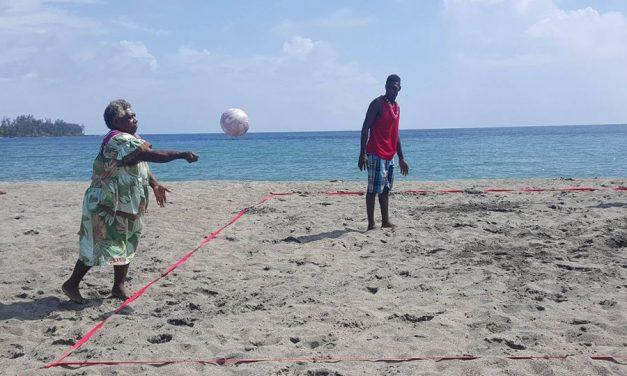 Lapita Bay Lini Day tournament and opening of Eratap Mama's Volley4Change Program