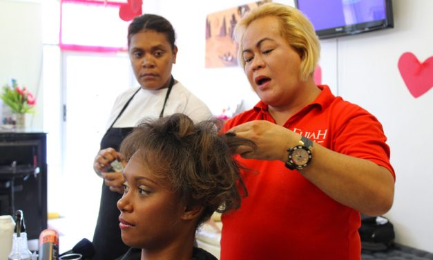 Behind the scenes of Sista Gat Style with Midas Hair and Beauty Salon