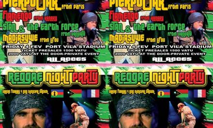 Reggae Night Party – Sat 4th Feb 2017 at Port Vila Municipal Stadium