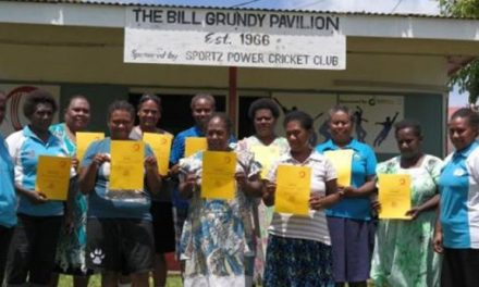Women's Island Cricket conducts umpiring and scoring training