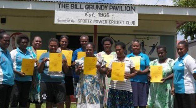 Women's Island Cricket conducts umpiring and scoring training