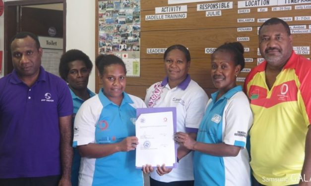 Vanuatu Cricket and Vanuatu Family Health Association sign Partnership Agreement