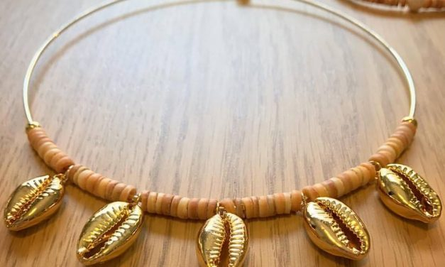 Golden Cowrie – Solomon Island Jewellery with traditional materials and modern finishes