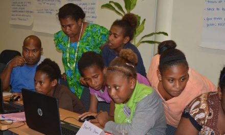 ICT camp for girls with SMART Sistas