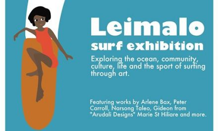 Leimalo Surf Exhibition at Fondation Suzanne Bastien – April 12 2017