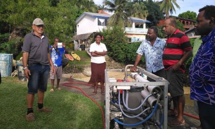Introduction of DR600 to provide freshwater in remote areas