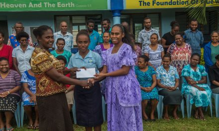Epauto SDA Senior Secondary School donates to SMART Sistas Robot Team