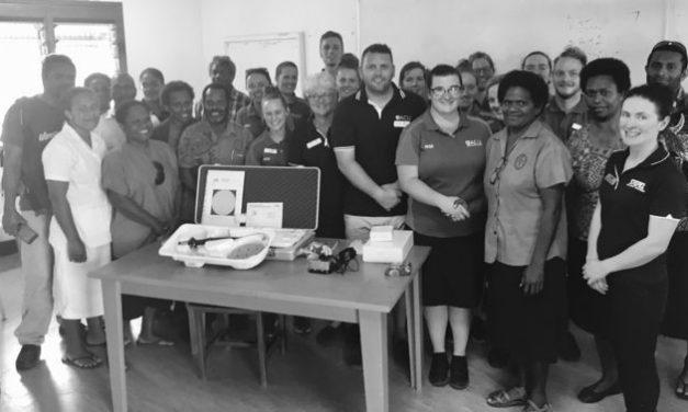 First ever bronchoscopy service in Vanuatu through NPH and ACU partnership