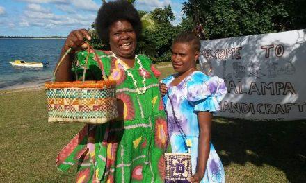 Inter-island handicraft trading