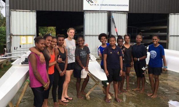 Girls rowing program numbers growing rapidly