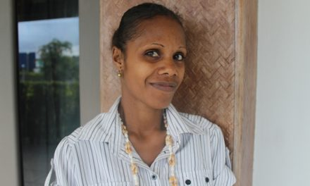 Madlen Netvunei, Vanuatu Society for People with Disability, attends 13th Triennial Conference of Pacific Women