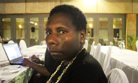 Kathleen Charley, Vanuatu Mama's English Class, attends 13th Triennial Conference of Pacific Women