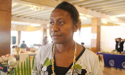 Julia Marango, Care, attends 13th Triennial Conference of Pacific Women