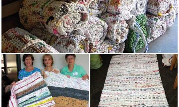 Free Workshop for Making Plastic Bag Mats in early Nov 2017