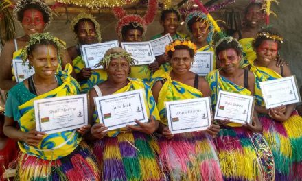 English Class Graduation For Tanna Women