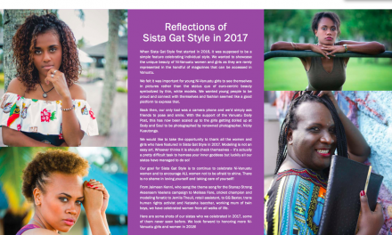 Reflections of Sista Gat Style in 2017