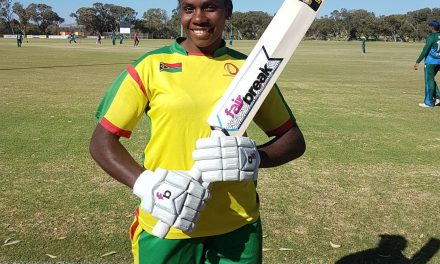 Solman Paving the Way for Vanuatu Women's Cricket