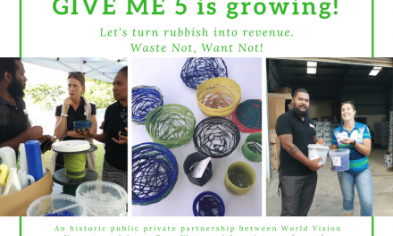 Azure Pure Water and World Vision launch partnership for plastic recycling