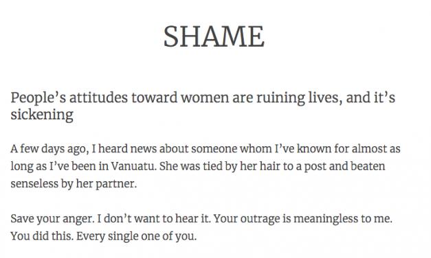 SHAME – Dan McGarry