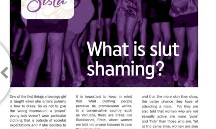 What is slut shaming?