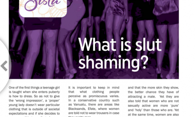 What is slut shaming?