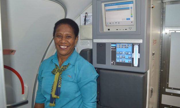Margret Firiam retires after 23 years on Air Vanuatu airline