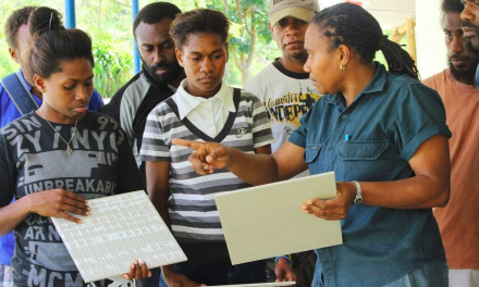 15 years of industry experience of Vanuatu's first female construction trainer