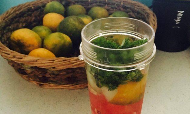 Alkalizing Juice Using Seasonal Fruits and Vegies