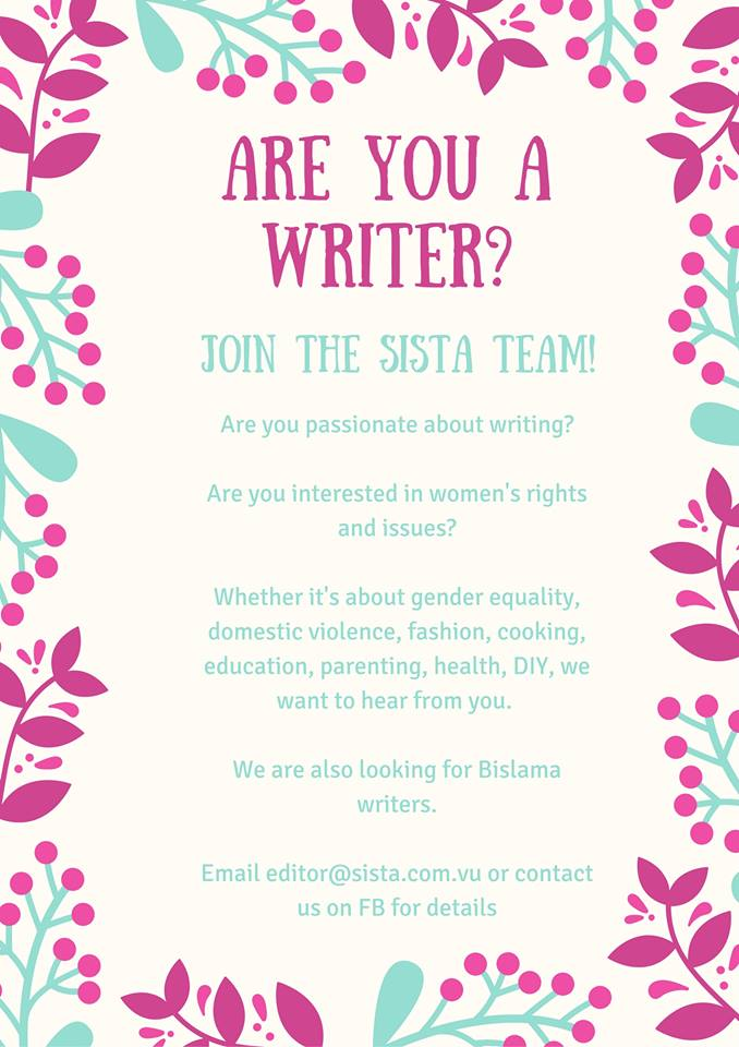Join The Sista Team