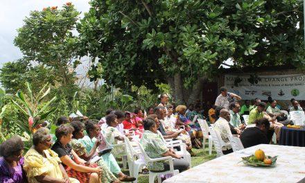 Launch of UN Market Vendor Agriculture Training