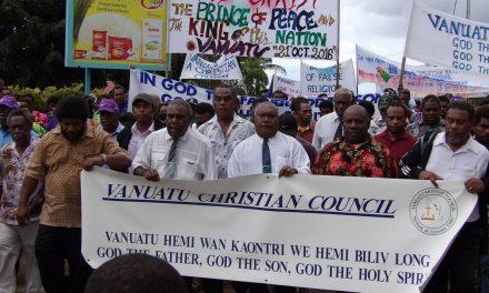 VCC proclaims Vanuatu for God