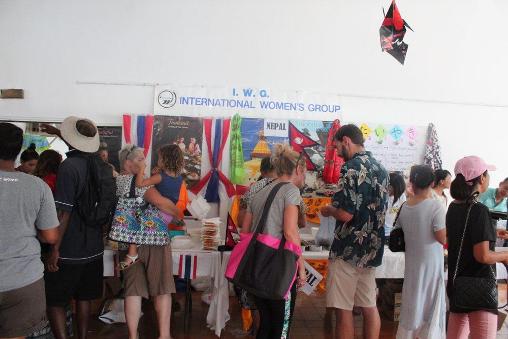 international women's group food festival vanuatu