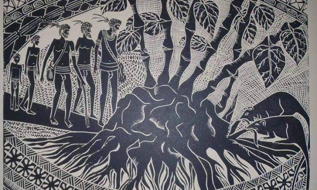 Tony Bruce – Natangura Nut Carver and Vanuatu's First Lino Print Artist