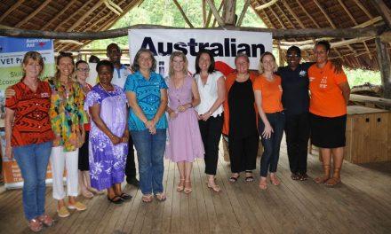 Ambassador Stott promotes gender equality